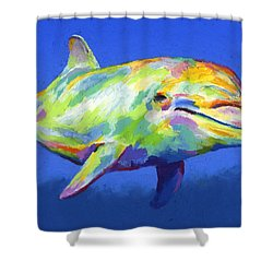 Born To Live Wild Shower Curtain by Stephen Anderson