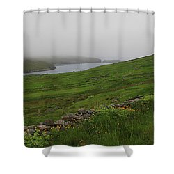 Borrowston Morning Clouds Shower Curtain