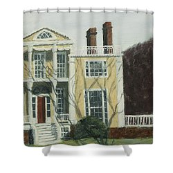 Boscobel In Winter Shower Curtain