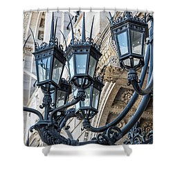 Boston Lamps Shower Curtain