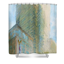 Boston Private Bank At Post Office Square Shower Curtain