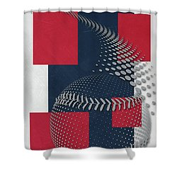 Boston Red Sox Art Shower Curtain 9c3e72eb047f