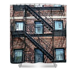 Boston Stairs Shower Curtain