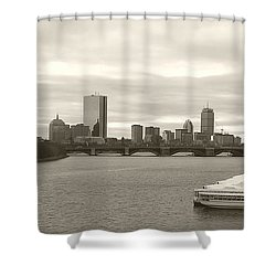 Boston View Shower Curtain