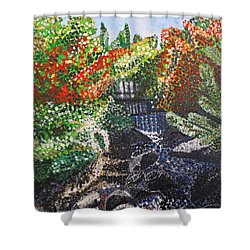 Botanic Garden Merano 1 Shower Curtain