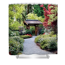 Shower Curtain featuring the photograph Botanical Garden by Elf Evans