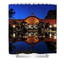 Botanical Gardens At Balboa Shower Curtain
