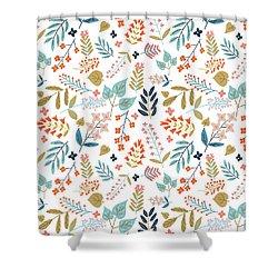 Botanical Harmony Shower Curtain