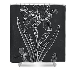 Botanique 1 Shower Curtain by Debbie DeWitt
