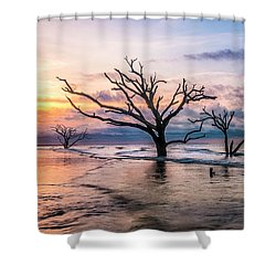 Botany Bay Dawn Shower Curtain