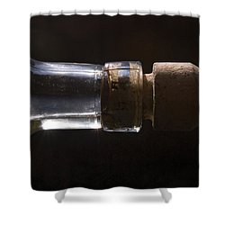 Bottle And Cork-1 Shower Curtain by Steve Somerville