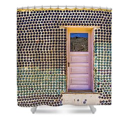 Bottle House Shower Curtain