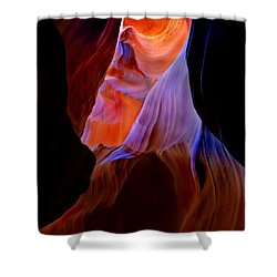 Bottled Light Shower Curtain