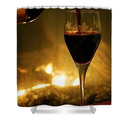 Bottled Poetry Shower Curtain