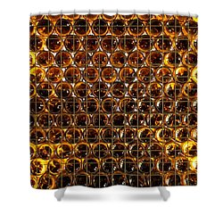 Bottles Of Beer On The Wall Shower Curtain