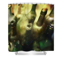 Bottles Of Color Shower Curtain