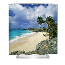 Bottom Bay, Barbados Shower Curtain