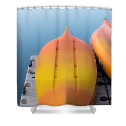 Bottoms Up Shower Curtain by Don Spenner