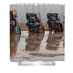 Shower Curtain featuring the photograph Bottoms Up by Stephen Stookey