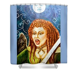 Boudicca  Let Not Our Daughters Be Forgotten Shower Curtain