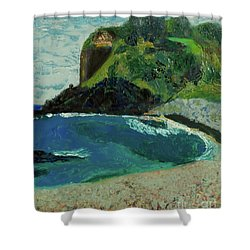 Boulder Beach Shower Curtain