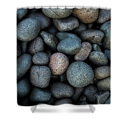 Boulder Beach Rocks Shower Curtain