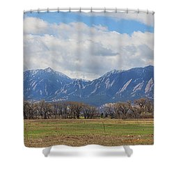 Shower Curtain featuring the photograph Boulder Colorado Prairie Dog View  by James BO Insogna