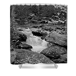 Boulder Creek Shower Curtain by DigiArt Diaries by Vicky B Fuller