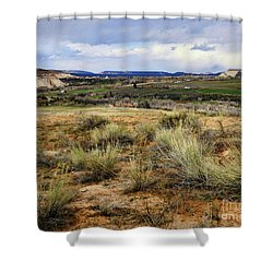 Boulder Utah Shower Curtain