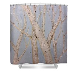 Boulots  Shower Curtain