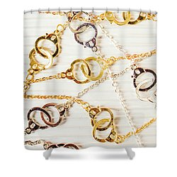 Shower Curtain featuring the photograph Bound By Love  by Jorgo Photography - Wall Art Gallery