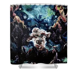 Bound Shower Curtain by Cheryl Pettigrew