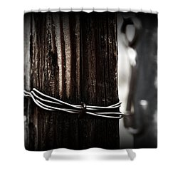 Bound  Shower Curtain