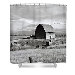 Boundary City Shower Curtain by Photo Researchers