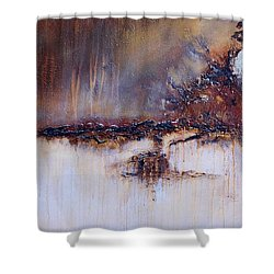 Boundary Waters Shower Curtain