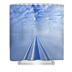 Boundless Infinitude Shower Curtain by Phil Koch