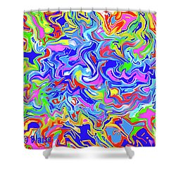 Boundless Shower Curtain by Yvonne Blasy