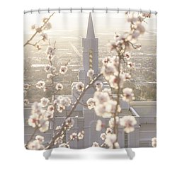 Shower Curtain featuring the photograph Bountiful Spring by Dustin  LeFevre