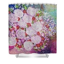 Bouquet Flowers Shower Curtain