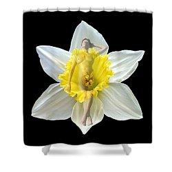 Bouquet Shower Curtain by Kurt Van Wagner