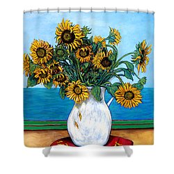 Bouquet Of Beauty Shower Curtain by Tom Roderick