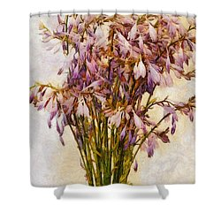 Bouquet Of Hostas Shower Curtain