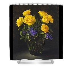 Bouquet Of Sunshine Shower Curtain