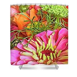 Bouquet Parfait Shower Curtain