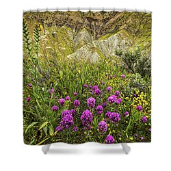 Shower Curtain featuring the photograph Bouquet by Peter Tellone