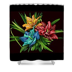 Bouquet#1 Shower Curtain