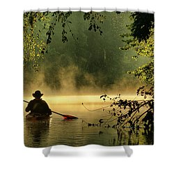 Bourbeuse River  Shower Curtain