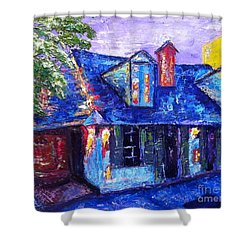 Bourbon And St. Philip Shower Curtain
