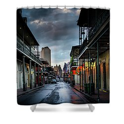 Bourbon Rain Shower Curtain