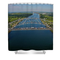 Bourne Bridge, Ma Shower Curtain